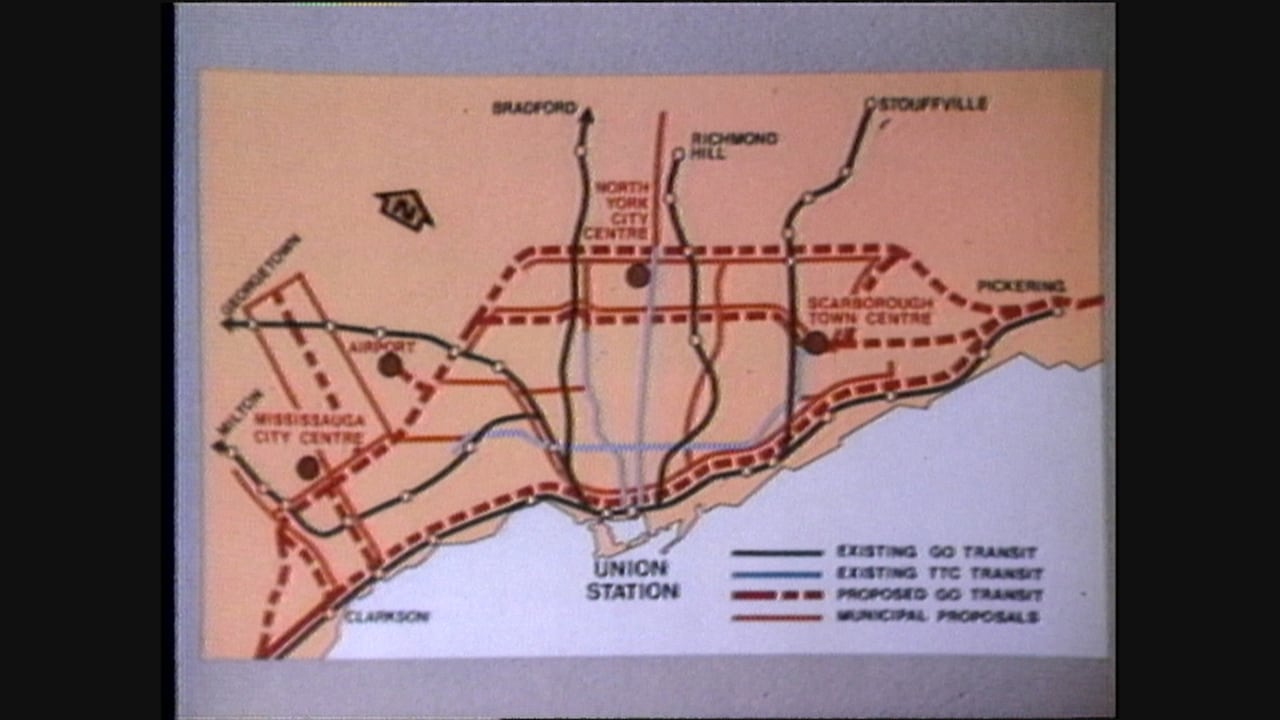 1 Train Toronto Subway Map Nyc.35 Years Of Toronto Transit That Never Happened Cbc Archives