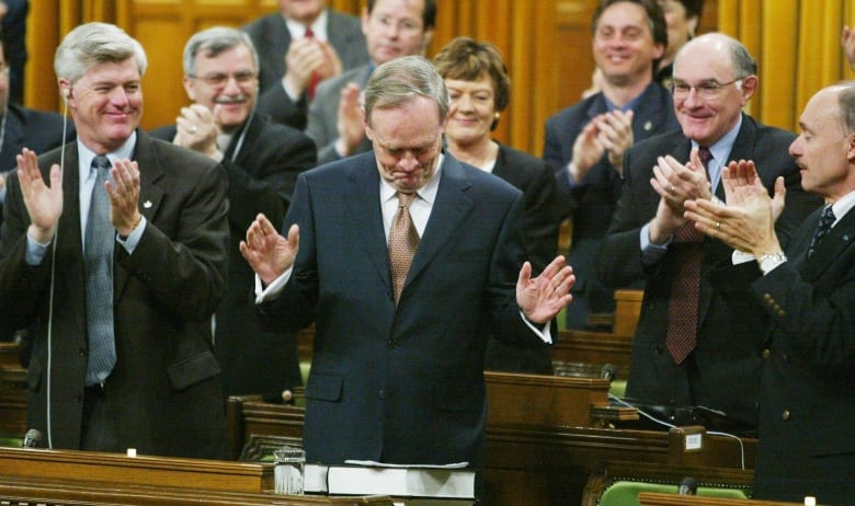 While former prime minister Jean Chrétien publicly refused to involve Canada in the invasion of Iraq, a U.S. diplomatic memo obtained by WikiLeaks said Canadian forces would be 'discreetly useful to the military effort.'(Jonathan Hayward/Canadian Press)