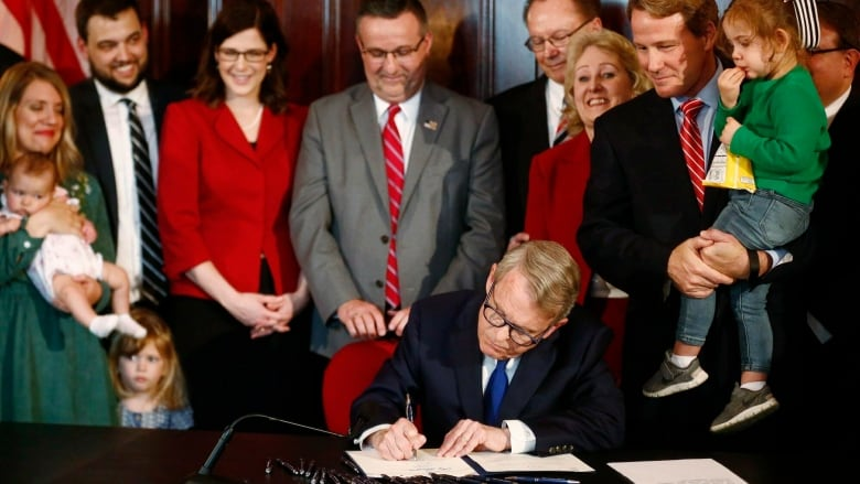 DeWine signs heartbeat abortion bill