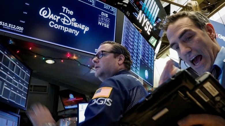 Disney's share price skyrockets as investors bet on new