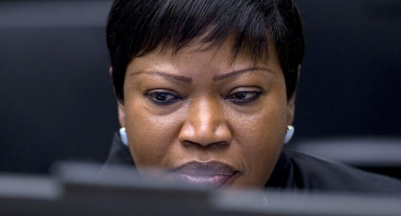 International Criminal Court chief prosecutor Fatou Bensouda.(Peter Dejong/Reuters)