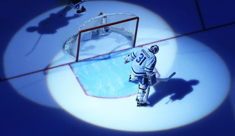 Frederik Andersen found himself in the spotlight during a stretch of bad games in March