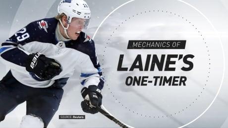 Patrik Laine's one-timers