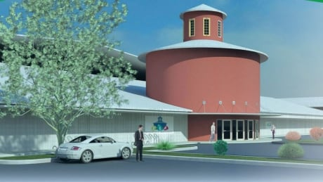 Renderings of the new Niverville Multiplex.