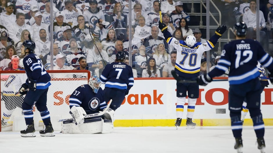 efa6e7cfff7 Blues head home with 2-0 series lead over Jets