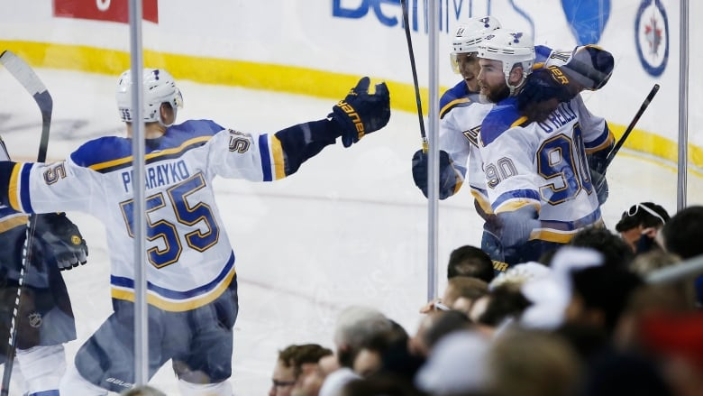 They Ve Got To Find Another Level Jets Fall Into 2 0 Hole In Series Against Blues Cbc News