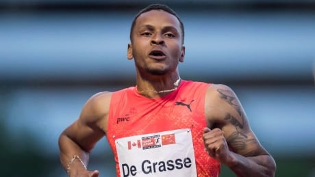 Andre De Grasse finishes 2nd in 200m at Grenada Invitational