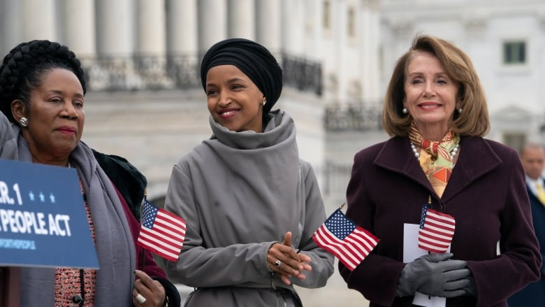Trump continues attack on Ilhan Omar with 'hate statements' accusation