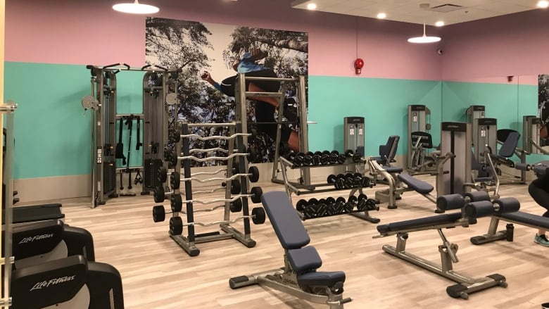 Decor of ladies only section in saskatoon gym feels patronizing