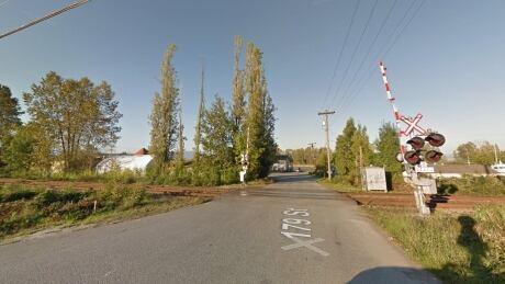 train crossing surrey