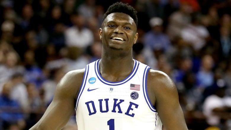 sale retailer 06790 62a67 Projected No. 1 pick Zion Williamson declares for NBA draft ...