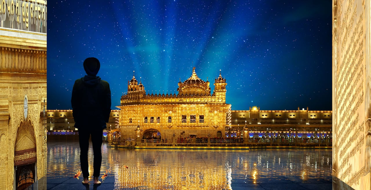 Multimedia Exhibit Brings The Golden Temple To The Gta Cbc News