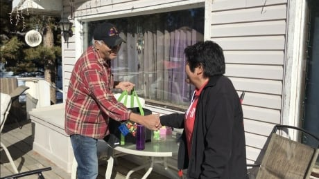 Kaska elders say 'souga senla' for meal delivery program