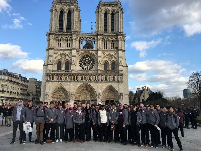 Winnipeg Students Visited Notre Dame Weeks Before Devastating Fire