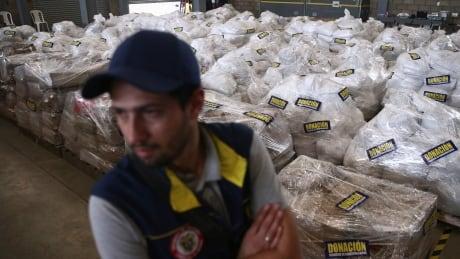 Humanitarian aid shipment makes it into Venezuela after delays