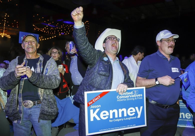 Jason Kenney rides UCP wave to majority government in Alberta