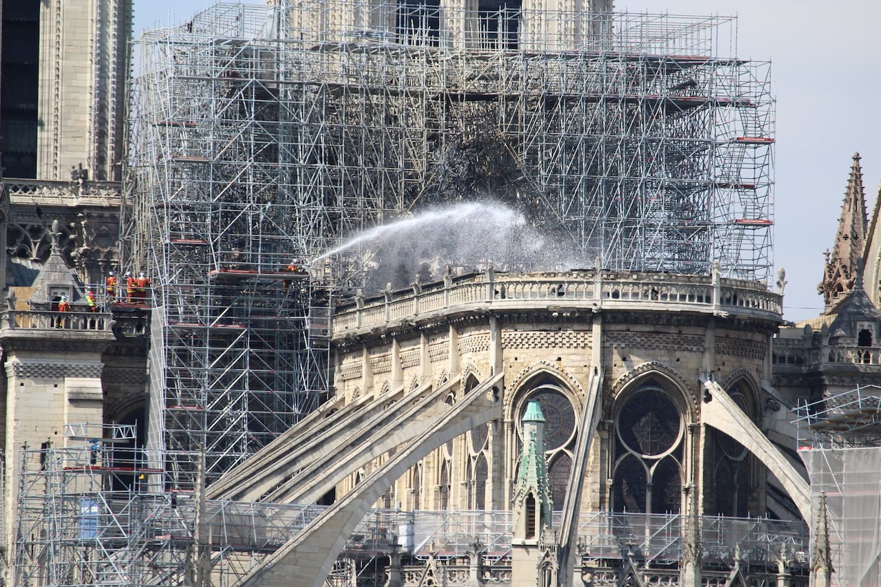 7a0a66c2 Notre-Dame to be closed as long as 6 years, Paris cathedral's rector says