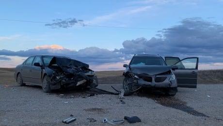 7 taken to hospital after rural highway collision