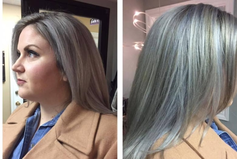 Island women are embracing their grey hair | CBC News