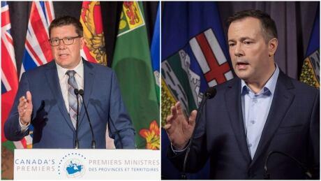 Scott Moe suggests he could follow new Alberta premier's lead on equalization referendum