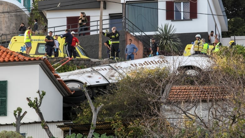 28 killed in Portuguese tourist bus accident: Madeira mayor