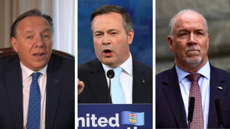Kenney's election win prompts reactions from B.C., Quebec leaders