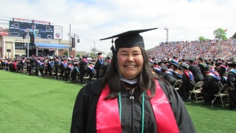 From drop-out to master's student, Inuvik woman says 'stay in school'