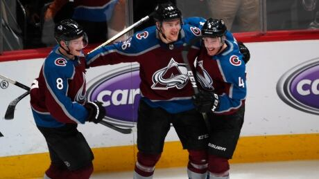 Avalanche push Flames to brink with OT win