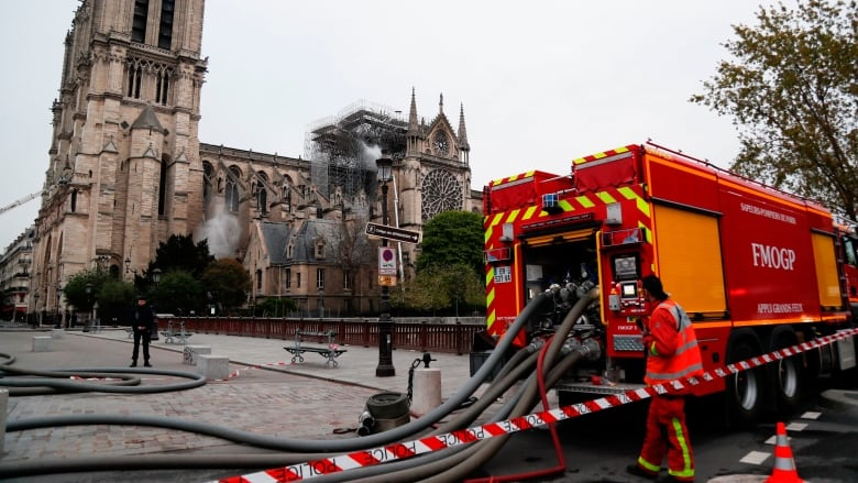 France to hold daylong tribute to Notre-Dame firefighters