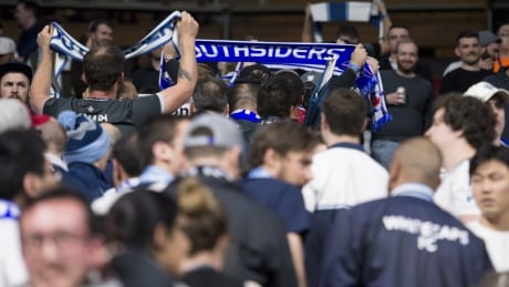 Loyal Whitecaps fans walk out during game to protest club's response to abuse allegations