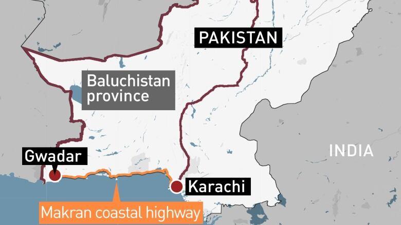 Gunmen kill 14 bus passengers in southwest Pakistan