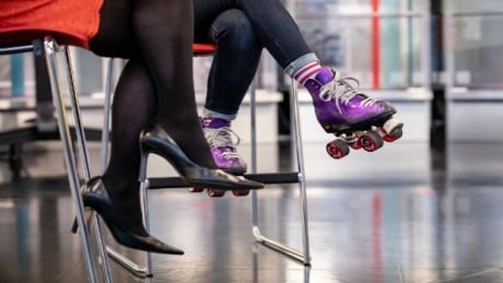 Vancouver roller skate group brings the party on wheels to downtown Vancouver