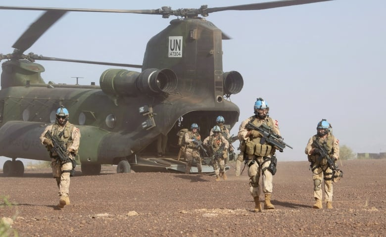 Canadian Troops Are Supporting The Uns Mission In Mali Until July  Adrian Wyld Canadian Press