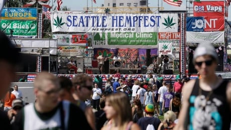 In Seattle, a pot protest not unlike Vancouver's enjoys tolerance — and some support