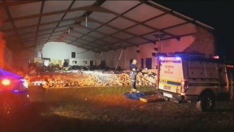South Africa Church Collapse