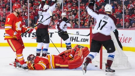 Flame out: Avalanche knock off Calgary in Game 5