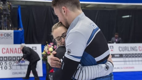 For the love of curling (and each other): Peterman, Gallant eye gold at mixed doubles worlds