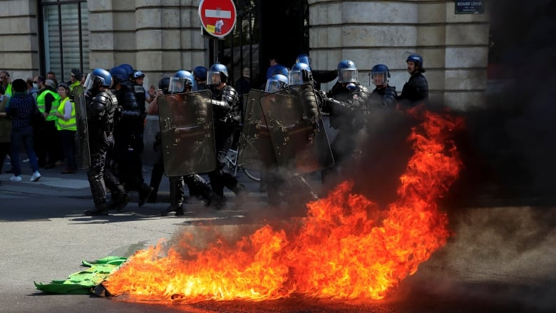 'Nothing for the needy': Notre-Dame not France's only problem, say protesters