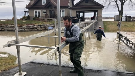 'People are quite nervous': Cumberland residents brace for rising waters