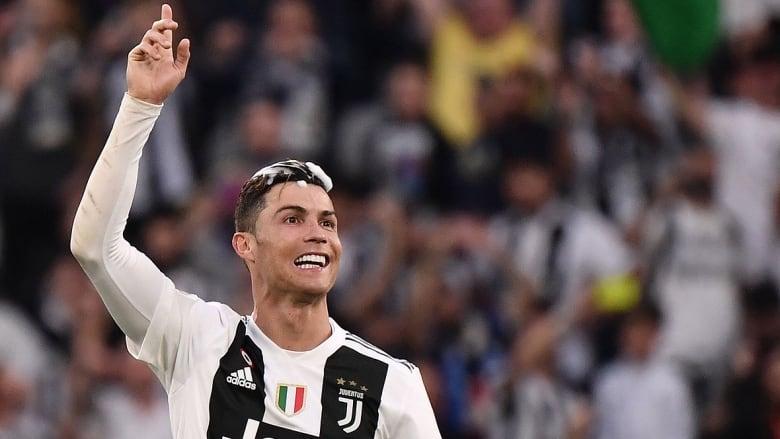 half off 424e5 da89e Ronaldo stands out in Juventus' 8th consecutive Serie A ...