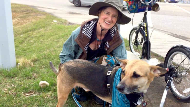 Activist and her dog set off on walk from Alberta to Ottawa to demand climate action