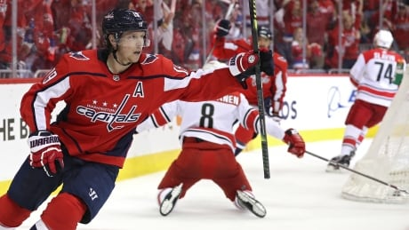 Capitals rebound from pair of losses to storm past Hurricanes