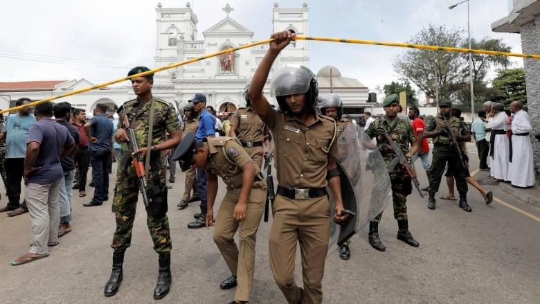 Explosions at Sri Lankan churches, hotels kill at least 138
