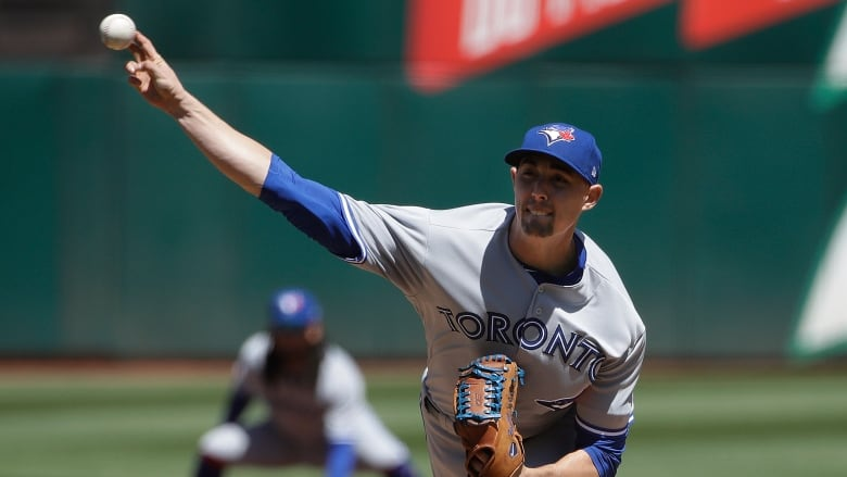 Blue Jays lose another starter, win another game against A's | CBC