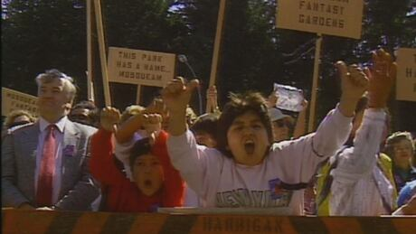 'We're still here': Musqueam elder reflects 30 years after Pacific Spirit Park protest