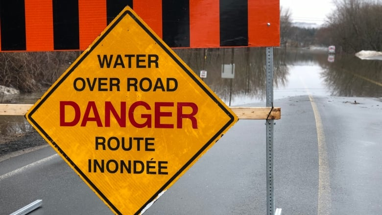These are the latest road closures and St  John River water