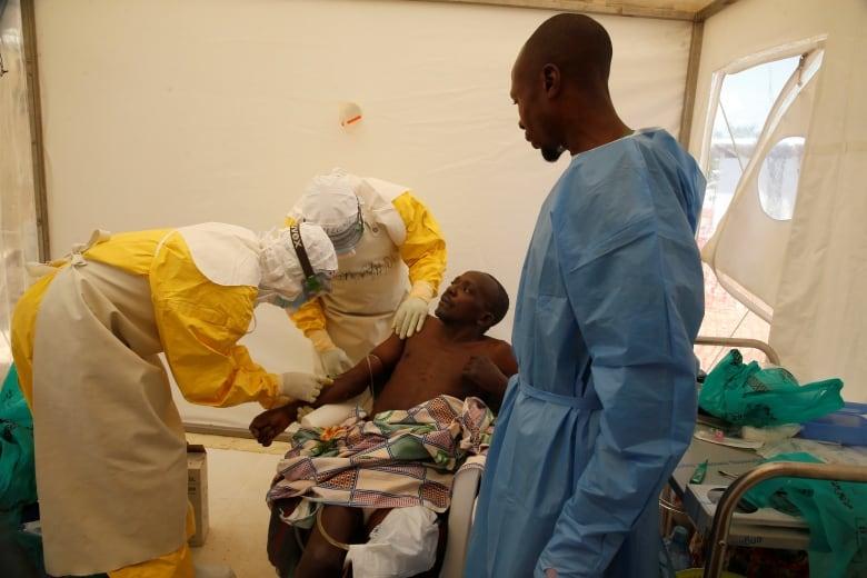 1 killed in Ebola center siege