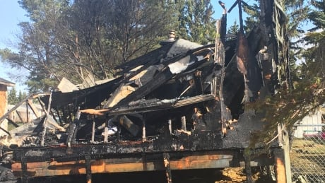 'He was on fire': 2 men hurt in blaze at Leduc County mobile home park