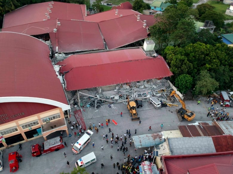 Image result for Philippines earthquake kills at least 8, more feared buried