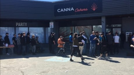 Sudbury's first cannabis store opens to steady lineups, and 'fantastic' business